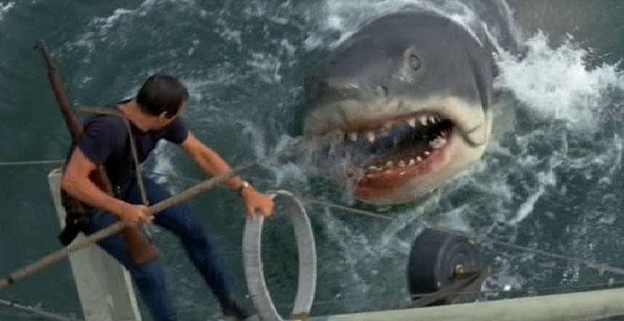 ▲《大白鯊》為影迷心中的恐怖經典。(圖/劇照)