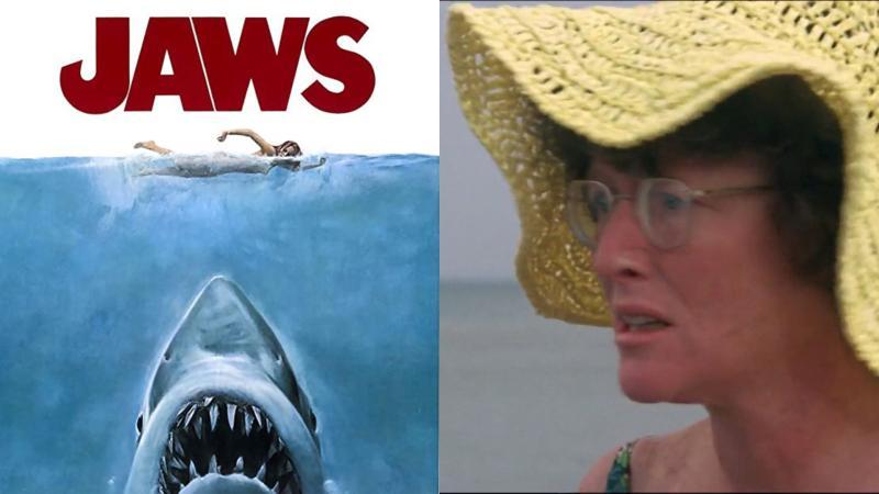 ▲《大白鯊》女星李費耶羅(右圖)感染新冠肺炎病逝。(圖/IMDb、ShoreNewsNetwork)