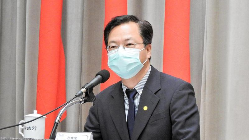 行政院政務委員龔明鑫。( 圖 / 記者陳弘志攝 )