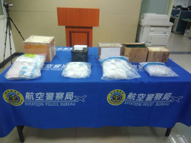影/<b>防疫漏洞</b>? 航警截斷中國毒品走私管道