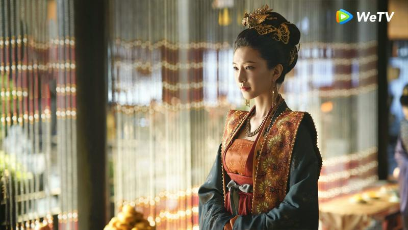 <br> ▲江疏影在《清平樂》演出曹皇后。(圖 / WeTV提供)