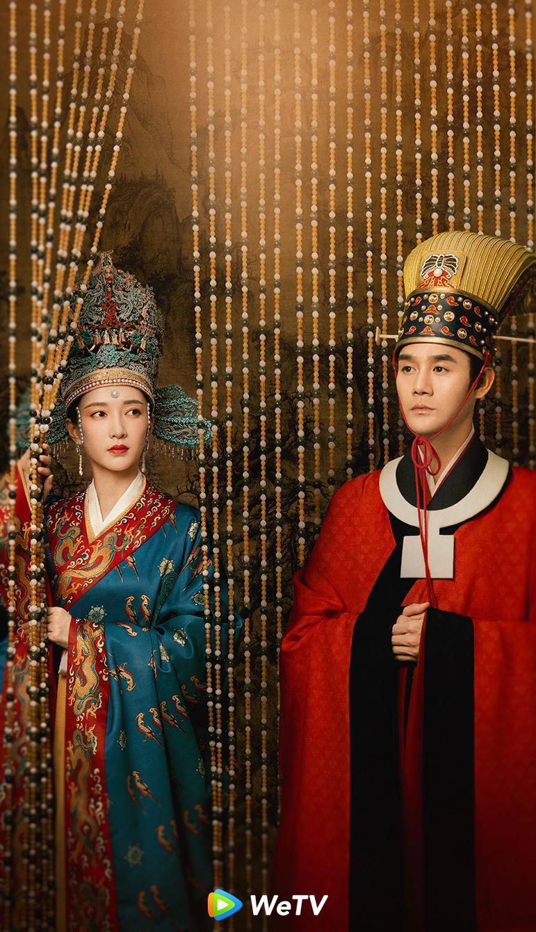 <br> ▲王凱(右)與江疏影主演《清平樂》兩人有感情戲。(圖 / WeTV提供)
