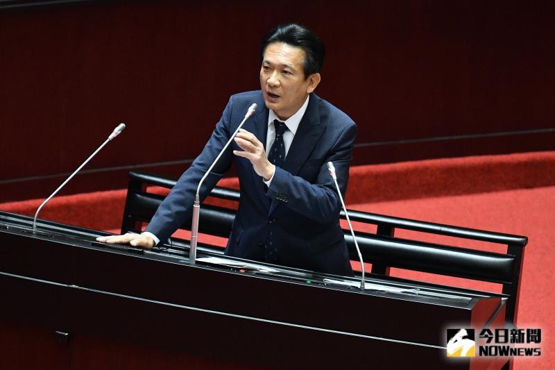 民進黨立委林俊憲。(圖/記者林柏年攝,2020.04.07)