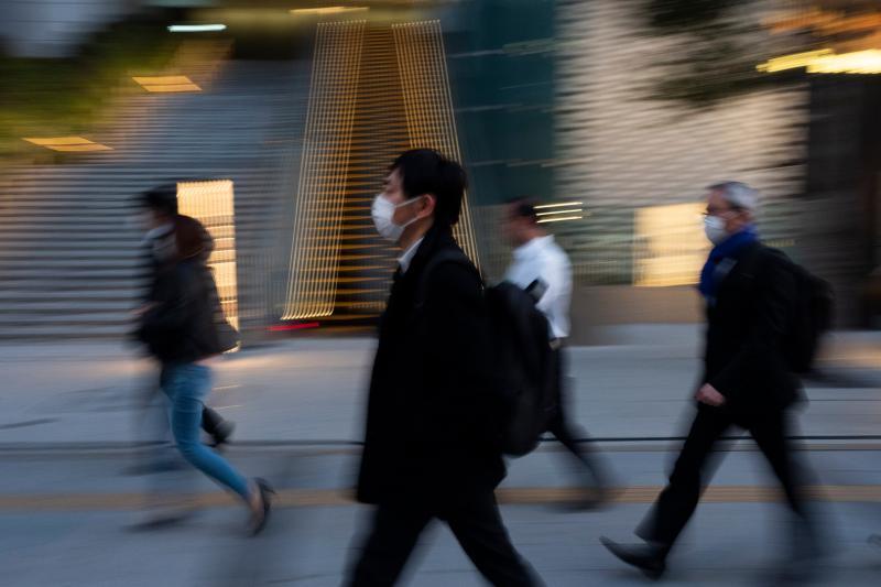 ▲日本新冠肺炎確診病例激增。(圖/美聯社/達志影像)