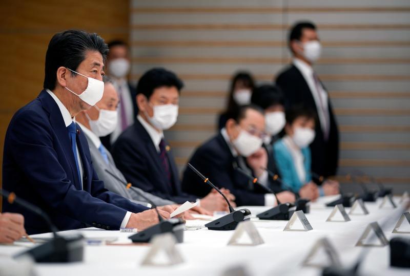 台播報安倍戴口罩畫面紅到日本!日人「超扯反應」網看傻