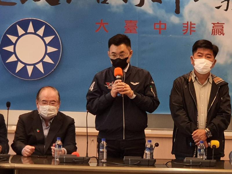 江啟臣基層拜訪台中行    宣示國民黨與市民站一起反空汚