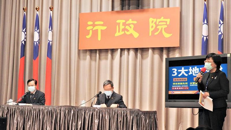 降租2成、提早<b>退稅</b>!行政院宣布11項稅務紓困措施