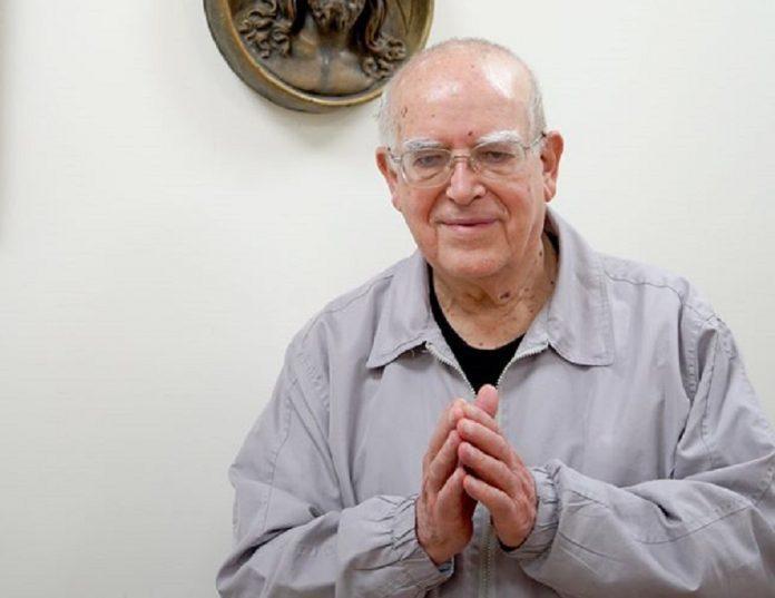 <br> 呂若瑟神父相當感謝台灣人為家鄉義大利所做的一切。(圖/翻攝羅東聖母醫院粉專)
