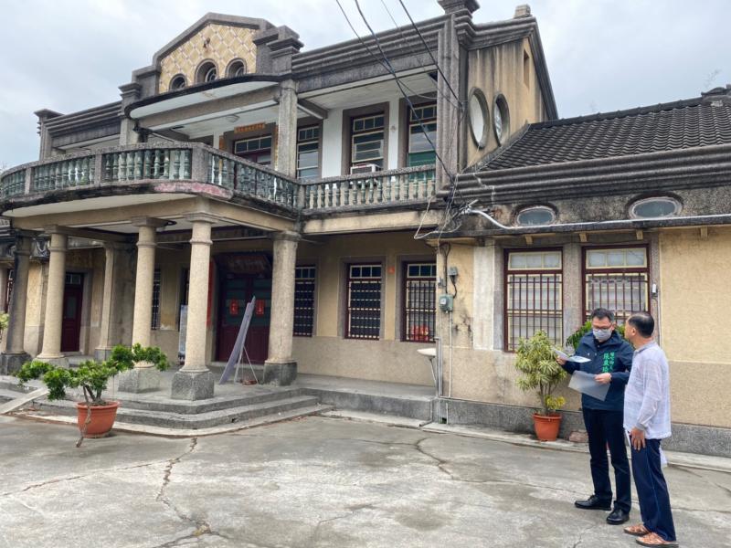 <br> ▲黃三元故居佔地1.8公頃,建物已有80年的歷史,是埔心鄉的觀光亮點。(圖/記者陳雅芳攝,2020.04.08)