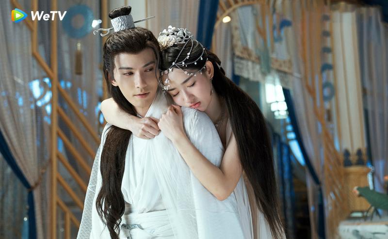 <br> ▲ 徐正溪、王玉雯上演啄木鳥之吻。(圖 / WeTV提供)
