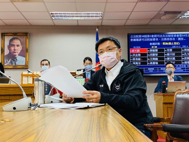 綠委促李清福冤案平反 法務部承諾酌審重啟