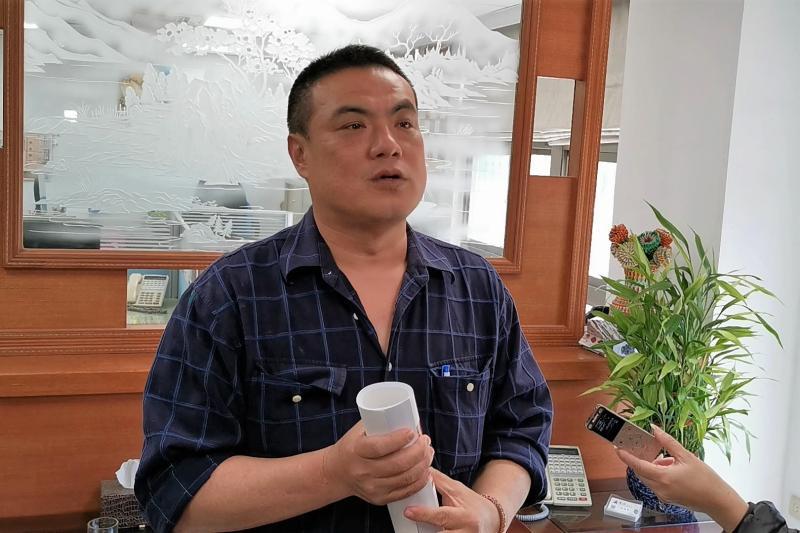 金城鎮長李誠智
