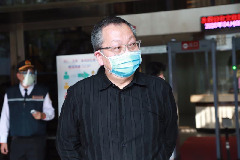 ▲双喜電影公司總經理陳永雄希望臺灣司法維護正義。(圖/記者葉政勳攝)