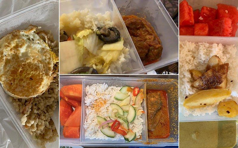 ▲馬來西亞隔離飯店供餐。(圖/翻攝Free Malaysia Today)