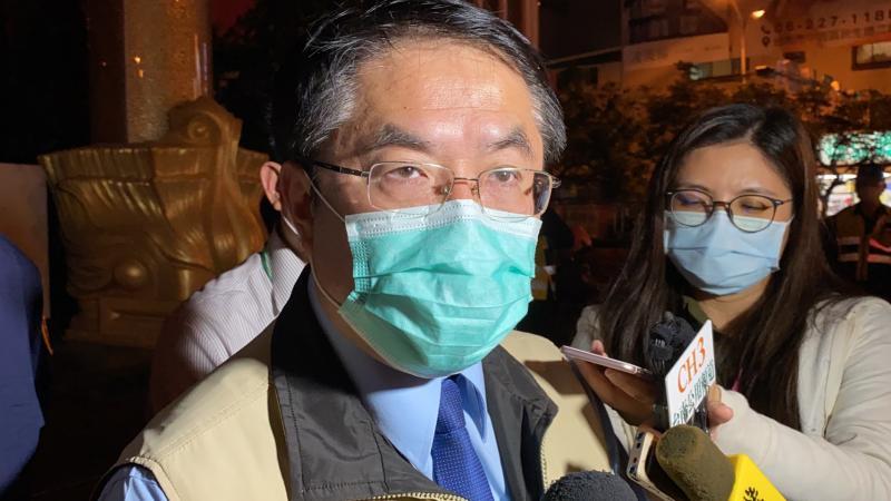 <br> ▲台南市長黃偉哲表示,台南市將率先實施KTV消費實名制登記。(圖/記者陳聖璋攝,2020.04.09)