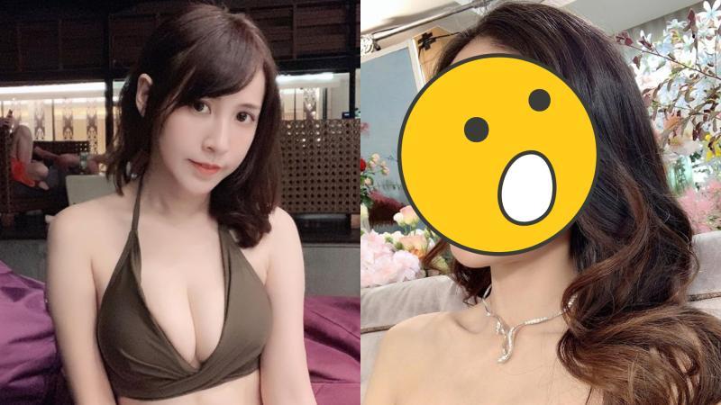 ▲網紅潔哥(左圖)被網友討女公關「潔西」的照片。(圖/潔哥臉書)