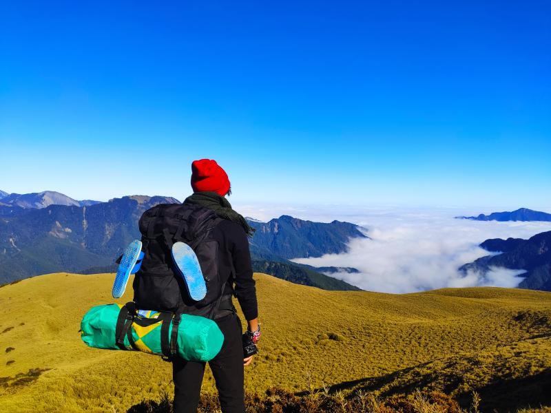 來自德國的Natalis Maximilian Ture目前就讀研究所,當他還是大學生時,即造訪臺灣數次,臺灣山岳之美令他尤其感動。(Natalis提供)