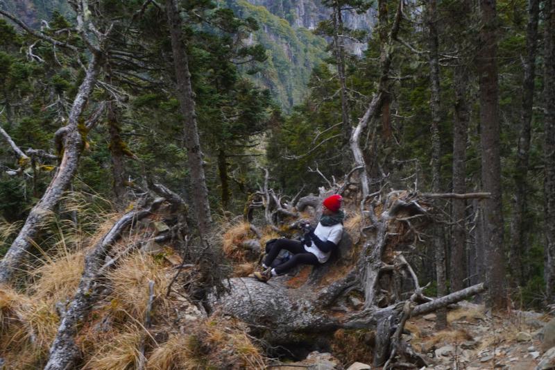 Natalis以鏡頭記錄在臺灣爬山的經驗,並創立YouTube頻道「Laotang老唐」分享臺灣山岳之美,其中年初發布的影片「雪山之兩日行」引起許多在台外國人的迴響(Natalis提供)