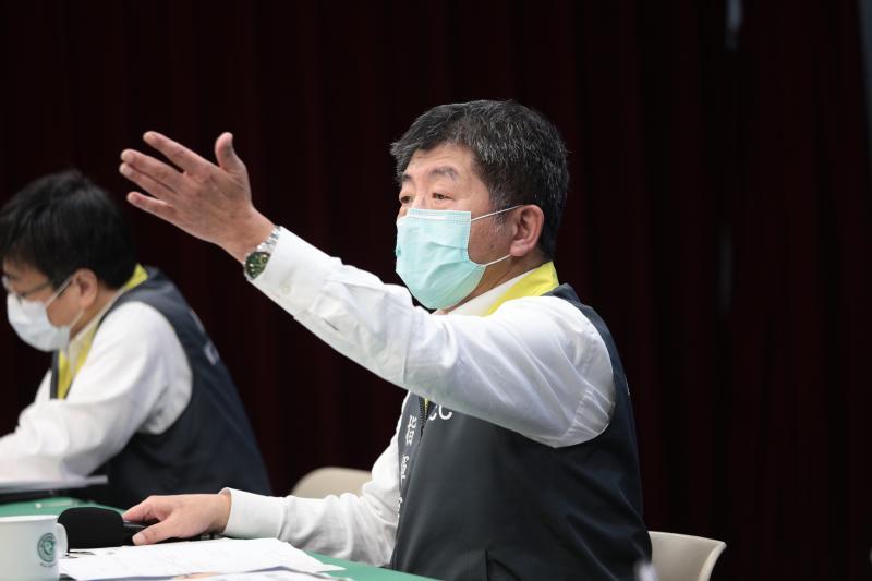 ▲中央流行疫情指揮中心指揮官陳時中。(圖/疾管署)