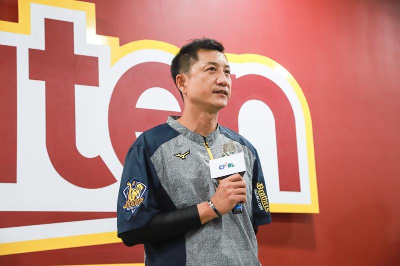▲中信兄弟總教練丘昌榮。(圖/記者葉政勳攝 , 2020.04