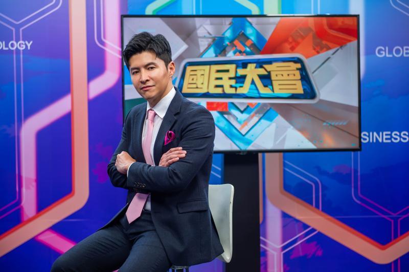 ▲謝曜州入主TVBS《國民大會》。(圖/TVBS)