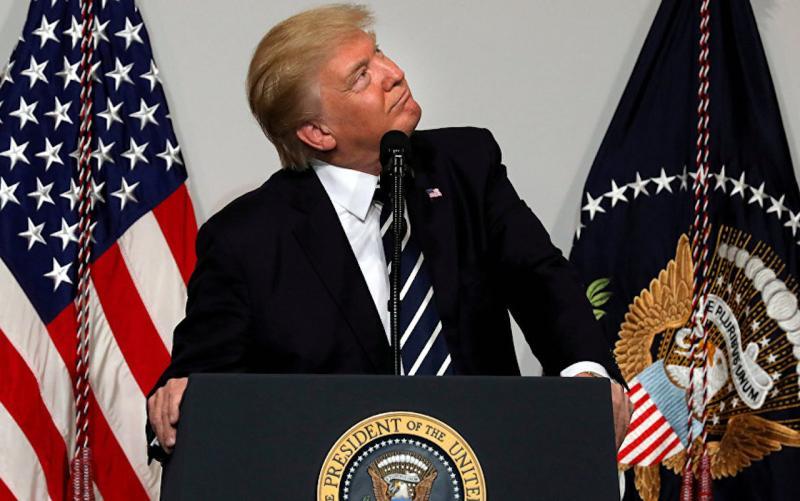 ▲美國總統川普。(圖/翻攝自衛星通訊社)