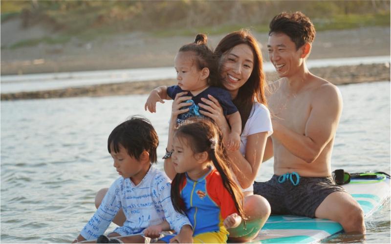 ▲隋棠一家人離開熟悉的台北。(圖/翻攝隋棠臉書)