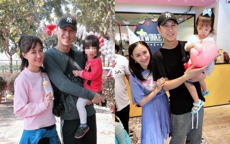 ▲藝人何妤玟(左)和老公邵天成宣布離婚。(圖/翻攝何妤玟臉書)