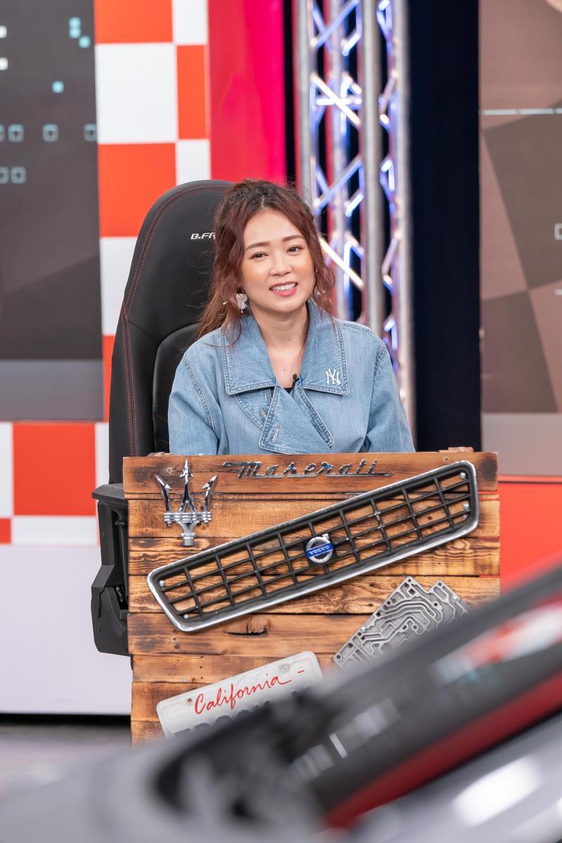 <br> ▲詹子晴分享她小車換大車的原因。(圖/TVBS)