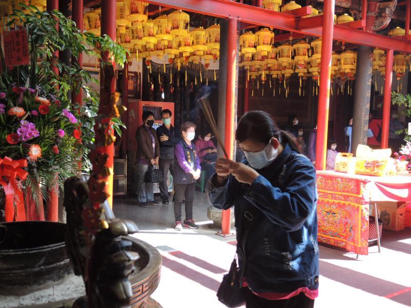 <br> ▲「福寧宮」俗稱「媽祖宮」,是員林地區歷史最久的古廟。(圖/記者陳雅芳攝,2020.04.13)