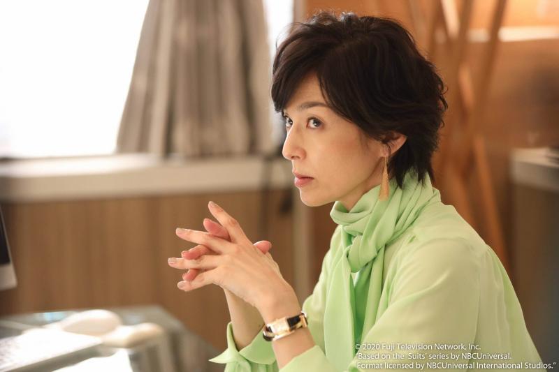 0413 鈴木保奈美在《SUITS無照律師第2季》飾演事務所所長幸村千花外。(圖:friDay影音提供)
