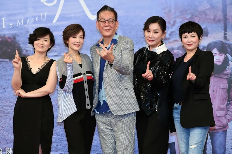 <br> ▲實力派演員謝瓊煖(左起)、林秀君、龍劭華、陳亞蘭、苗可麗。(圖 / 華視提供)