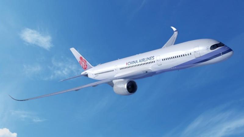 ▲ 華航原本機身,未來即將加註「TAIWAN」標誌。(圖/華航提供)