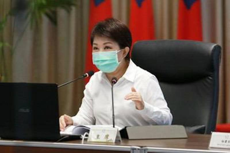 ▲市長盧秀燕表示,台中市未來對於疫情可能還有加嚴措施,對於少數不遵守,沒有落實的人要予以規勸,道德勸說或者是勇於檢舉。 (圖/柳榮俊翻攝2020.4.14)