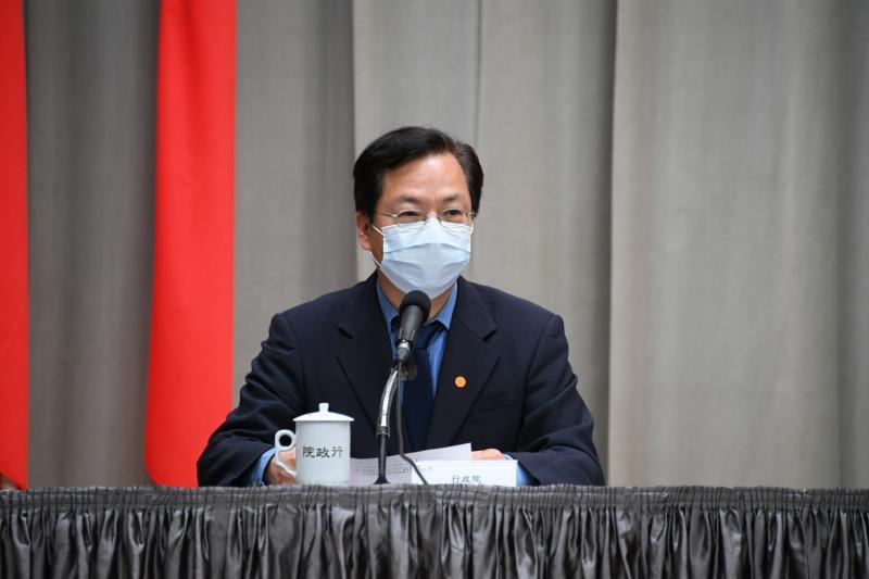 行政院政務委員龔明鑫。(圖 / 行政院提供)