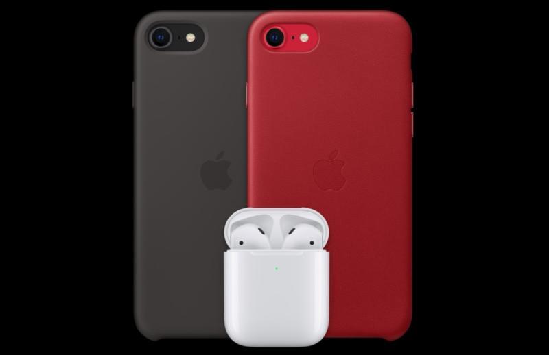 ▲蘋果於今(15)日半夜突然於官網上線新款iPhone SE。(圖/翻攝自蘋果官網)