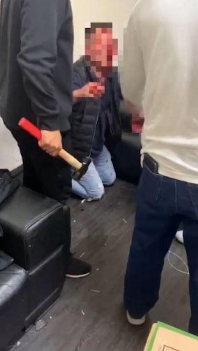 ▲賭場糾紛引發暴力(圖/臉書)