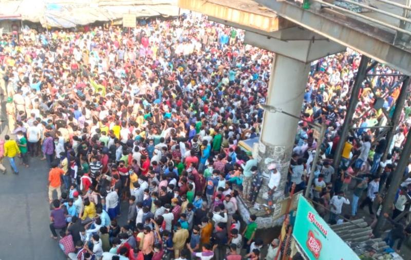 印度延長全國封鎖至5/3 3千人群聚火車站欲「逃離<b>孟買</b>」