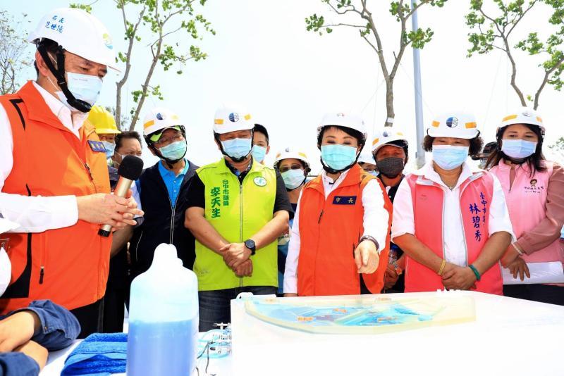 防汛超前部署整備 盧秀燕:防疫、防災一樣重要