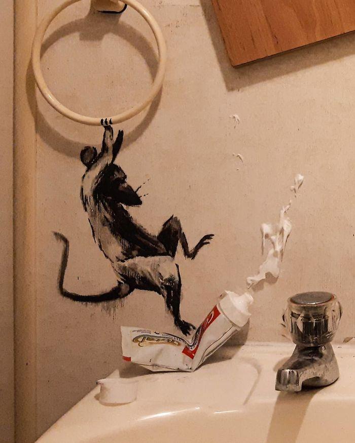 ▲(圖/翻攝自 Banksy 的IG)