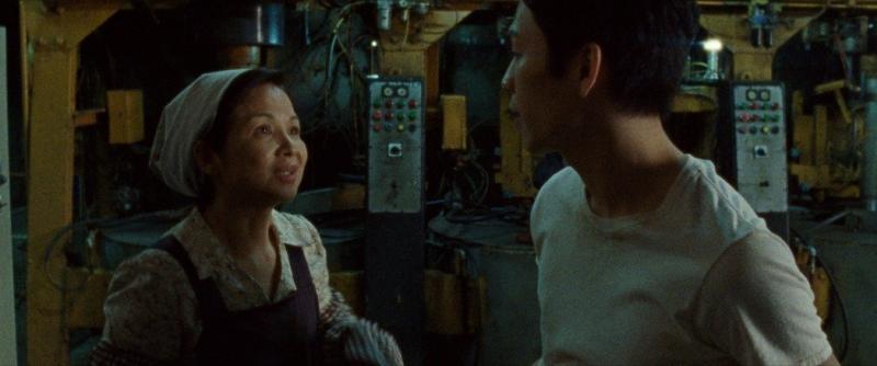 <br> ▲楊貴媚在《虎尾》飾演樂天知命的母親。(圖/Netflix提供)
