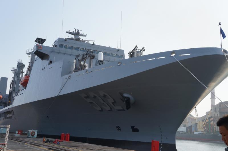 敦睦艦隊磐石、岳飛、康定三艦 國防部:5月底恢復戰備