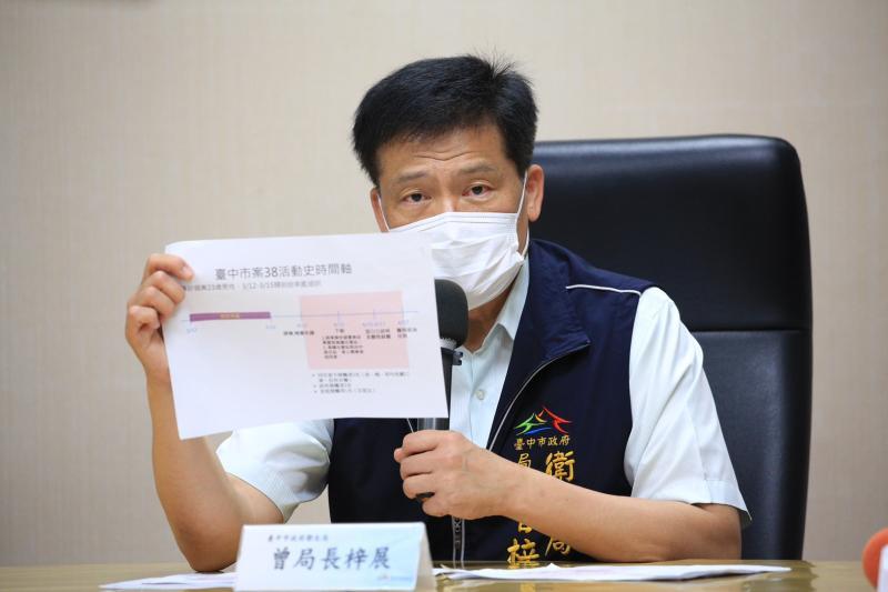 台中市籍軍艦官兵3人確診   衛生局公布返台中3天足跡