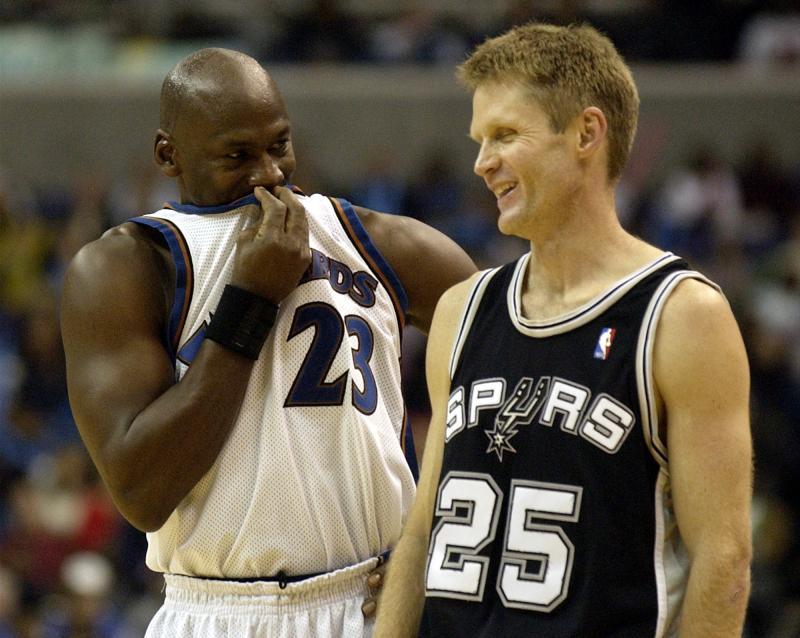 NBA/和喬丹<b>打架</b> 柯爾再爆料:他先向我道歉的