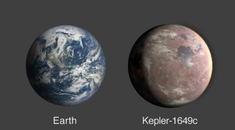 <br> ▲這顆有機會成為人類第二移居地的星球名為 Kepler-1649c 。(圖/翻攝自 NASA )