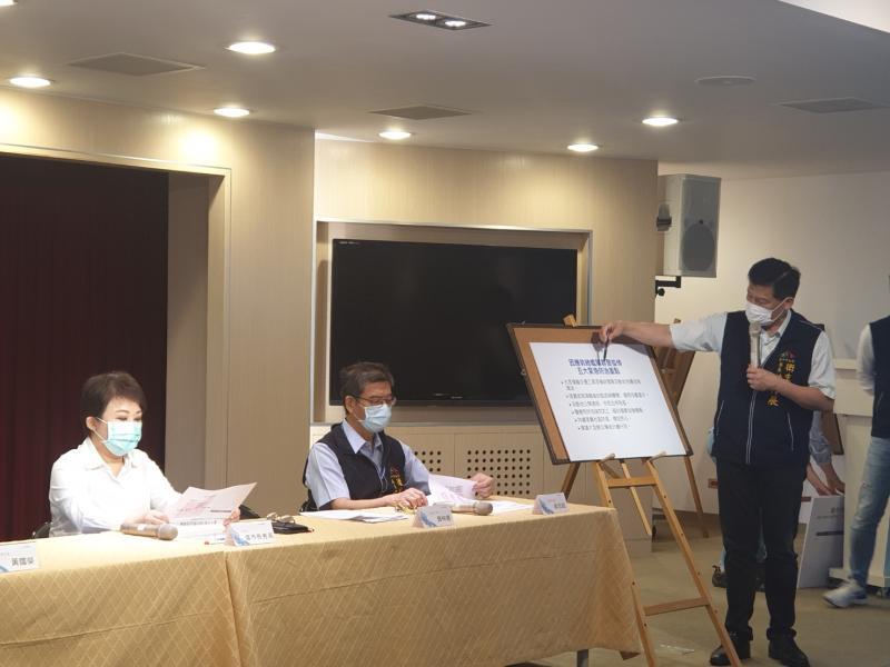 防疫「弄破網」恐引發社區感染     盧秀燕:暫停口罩援外