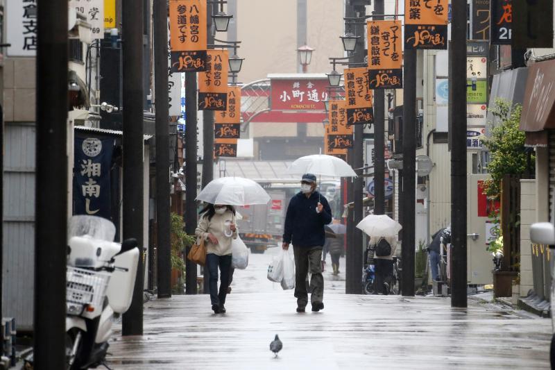 ▲新冠肺炎疫情在日本加速蔓延,東京連續多日確診人數破百。(圖/美聯社/達志影像)