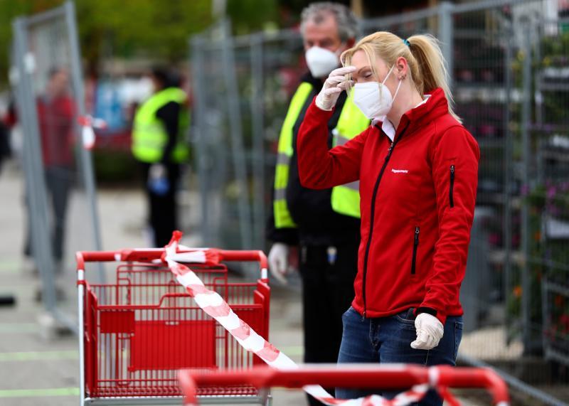 ▲ 德國新冠肺炎疫情獲得控制,部分商家獲准恢復營業。(圖/美聯社/達志影像)
