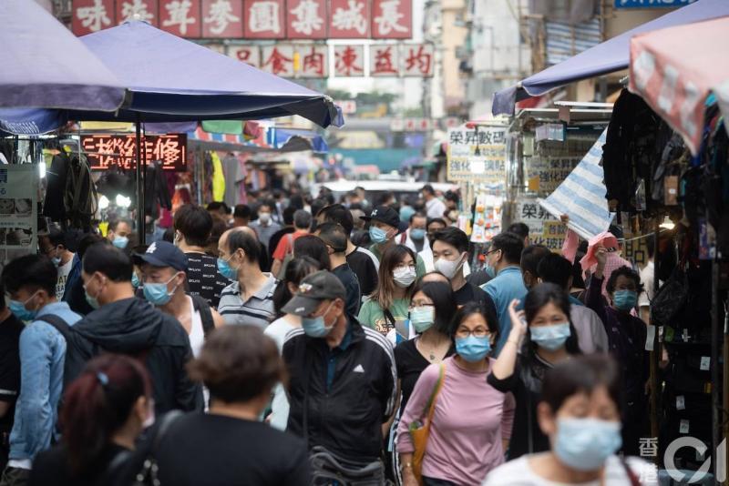 ▲香港街景。(圖/翻攝自《香港 01 》)