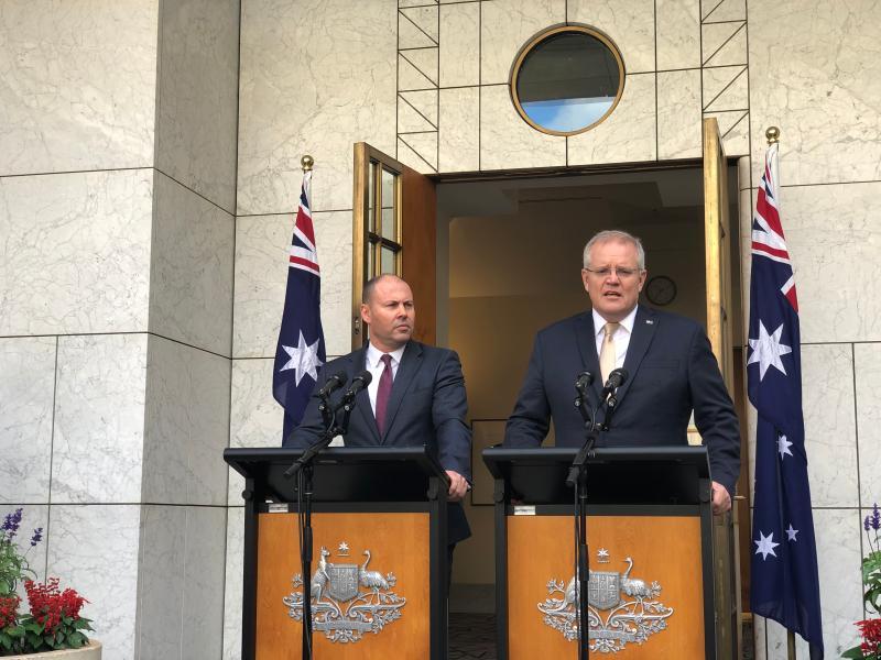 AUSTRALIA-CANBERRA-COVID-19-ECONOMY-PLAN